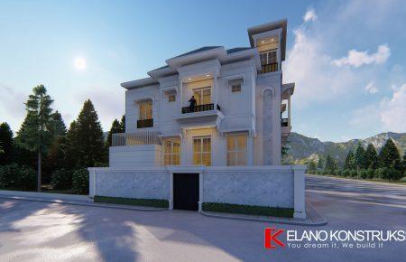 Desain Rumah Minimalis Luas 150m2  portofolio elano konstruksi