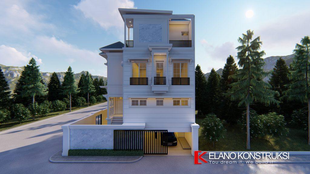 x4 Copy 1024x576 - Desain Rumah Klasik Tropis Bapak Abdurrauf Jakarta