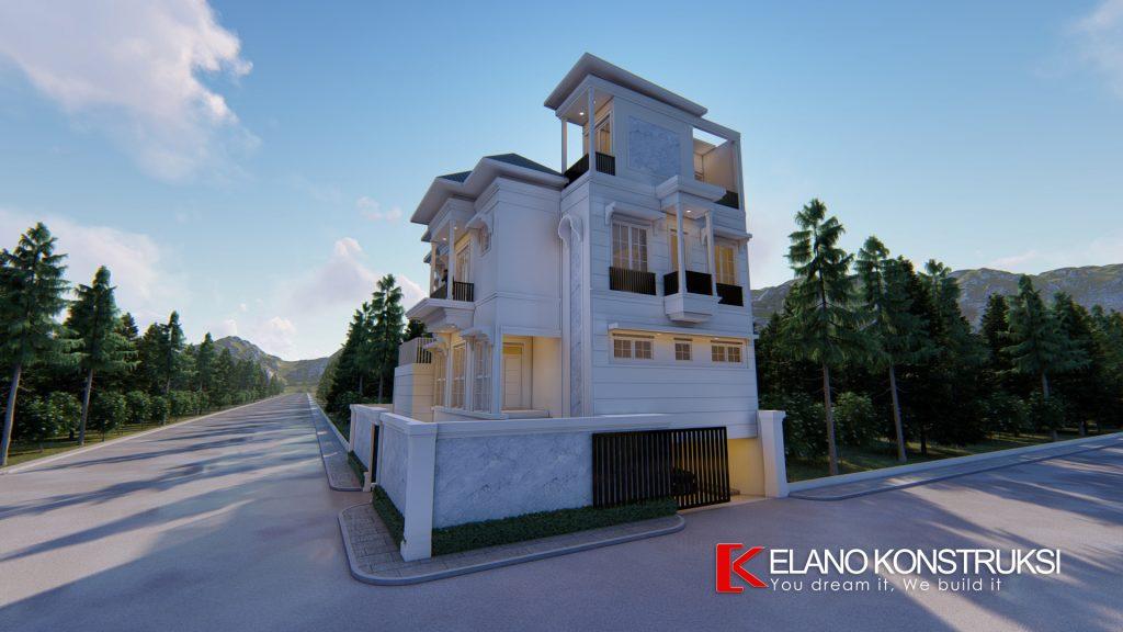 x5 Copy 1024x576 - Desain Rumah Klasik Tropis Bapak Abdurrauf Jakarta