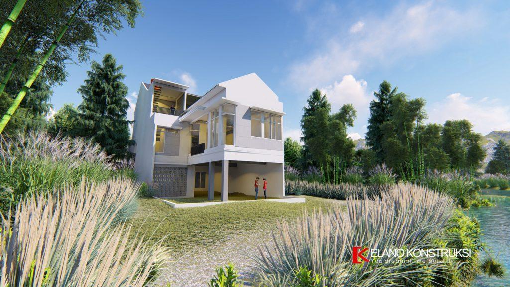0 copy 1 1024x576 - Desain Rumah Minimalis Ibu Elva 300 M2 Cinere Depok