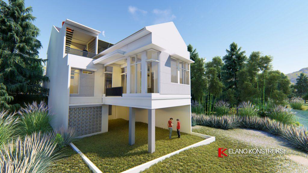 1 copy 1 1024x576 - Desain Rumah Minimalis Ibu Elva 300 M2 Cinere Depok