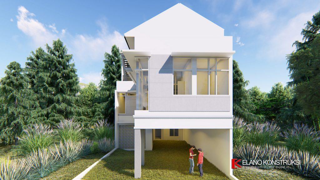 2 copy 1 1024x576 - Desain Rumah Minimalis Ibu Elva 300 M2 Cinere Depok