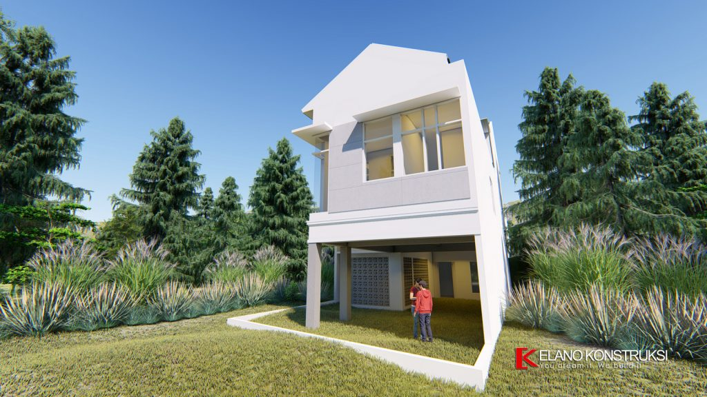 4 copy 1024x576 - Desain Rumah Minimalis Ibu Elva 300 M2 Cinere Depok