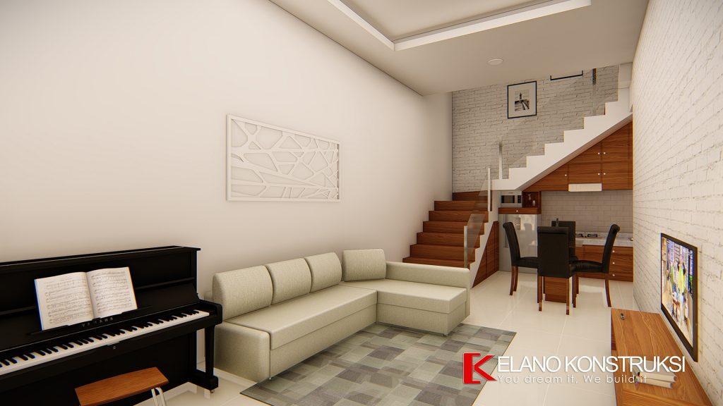 l5 1024x576 - Desain Interior Rumah Modern Minimalis Ibu Jolo 160 M2 Depok