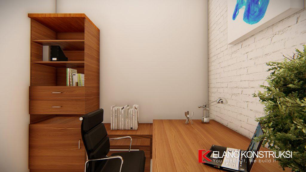 l9 1024x576 - Desain Interior Rumah Modern Minimalis Ibu Jolo 160 M2 Depok
