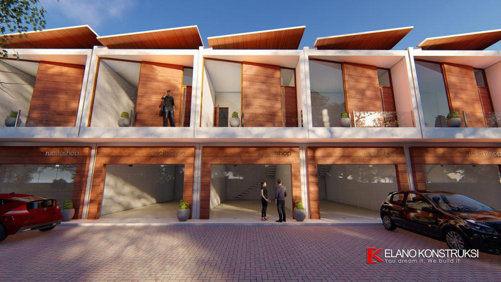 ruko 6 1500px 1024x576 - Desain Ruko Modern Tropis 72 M2 Walantaka Serang Banten