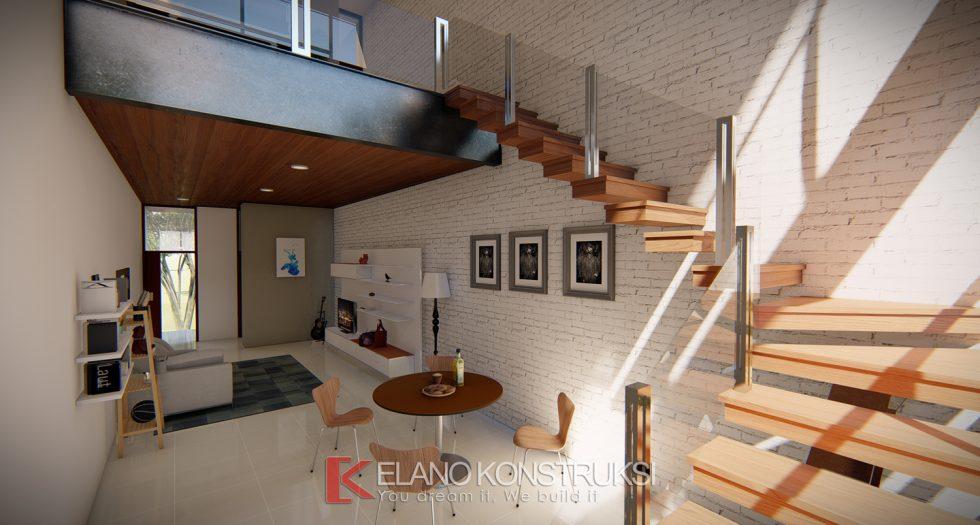 Desain Rumah Minimalis Luar Dan Dalam  jasa desain rumah elano konstruksi