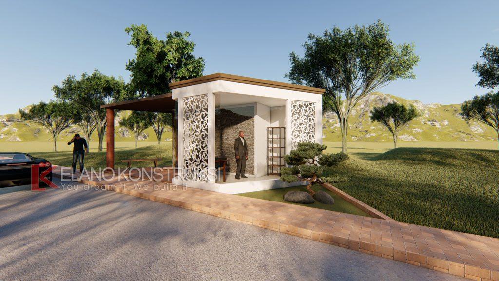 pos 2 copy 1024x576 - Desain Pos Satpam Rasa Taman 4x10 Banten