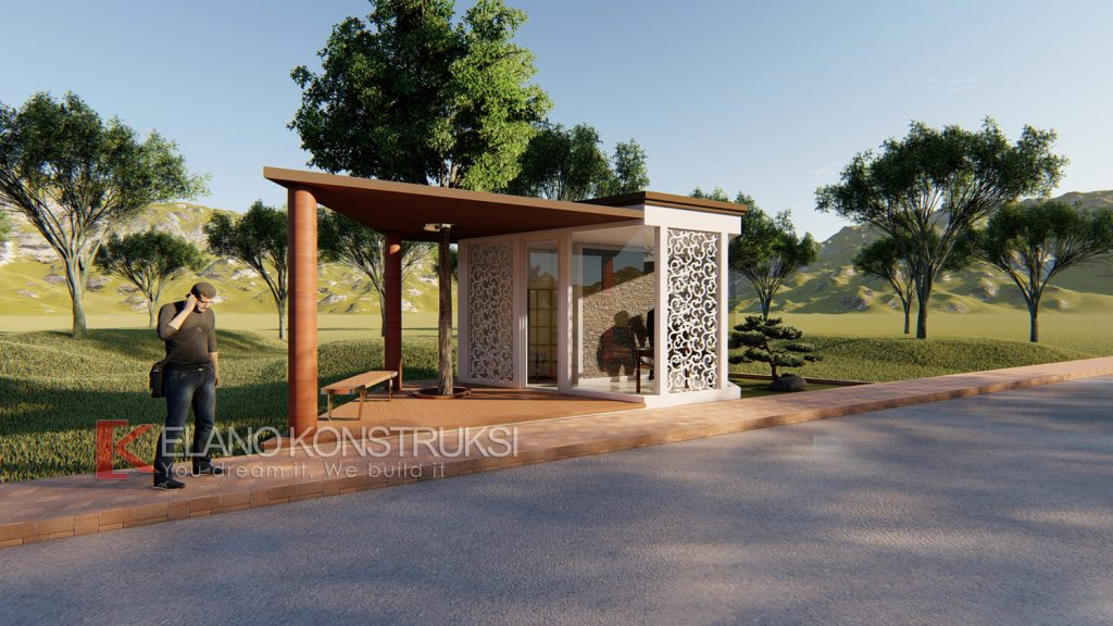 pos 3 copy 1024x576 - Desain Pos Satpam Rasa Taman 4x10 Banten