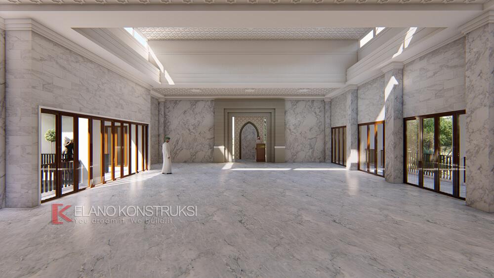 1 copy - Desain Interior Masjid Beji Depok Jawa Barat
