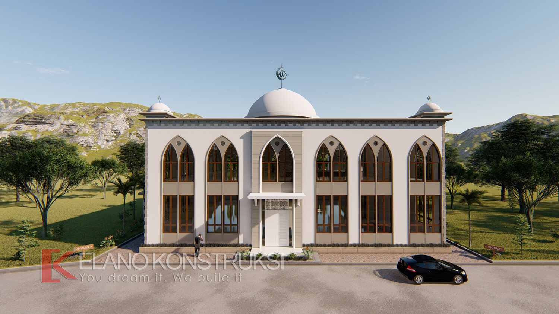 2 - Desain Masjid Pesantren Insan Cendikia Bogor