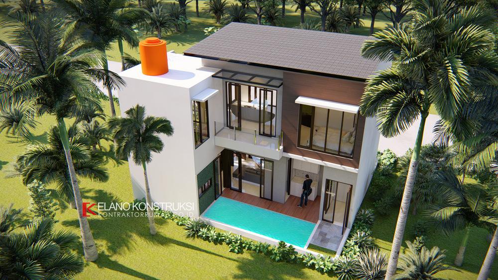 5 - Desain Rumah Modern Bapak Fadli 100 M2 Bekasi