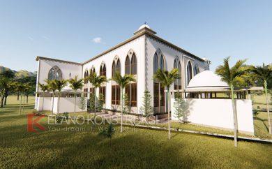 jasa desain masjid incen