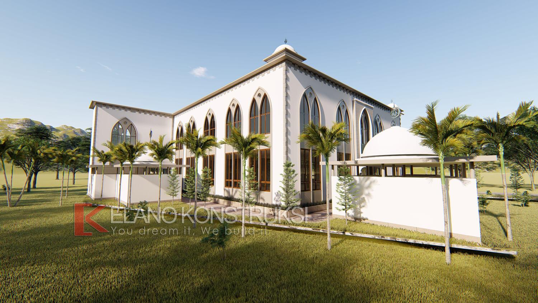 7 - Desain Masjid Pesantren Insan Cendikia Bogor