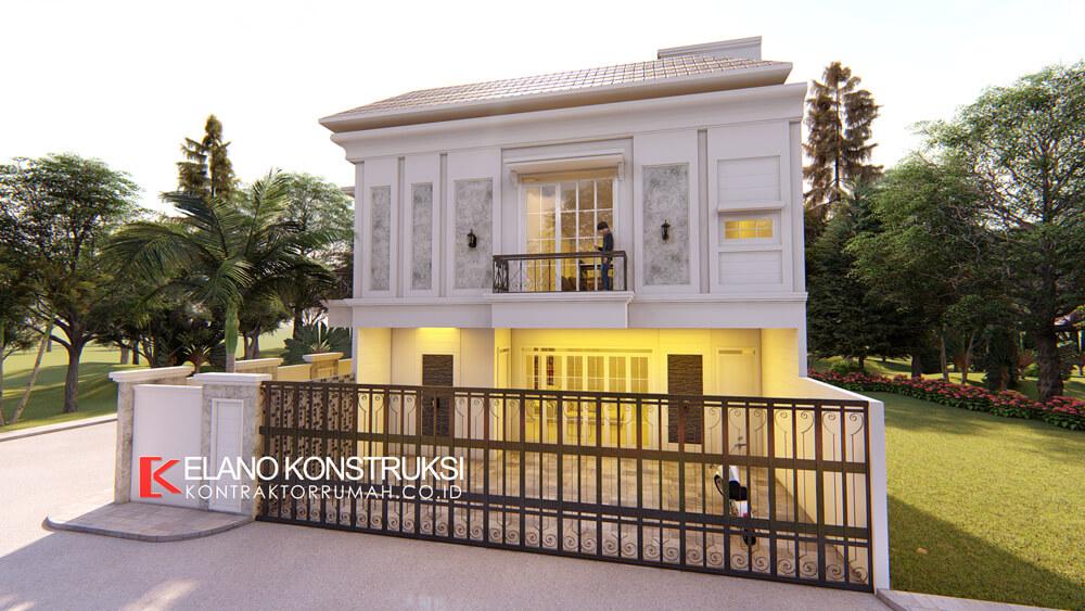 x3 - Desain Rumah Klasik Bapak Difal 260 M2 di Jakarta