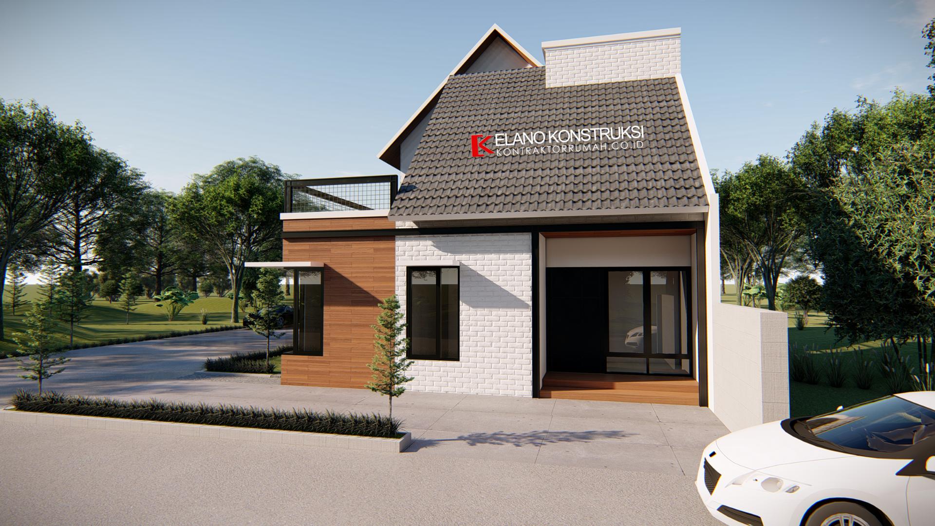 jasa desain rumah 7 - Desain Rumah Industrial Ibu Vidya 199 M2 Jakarta