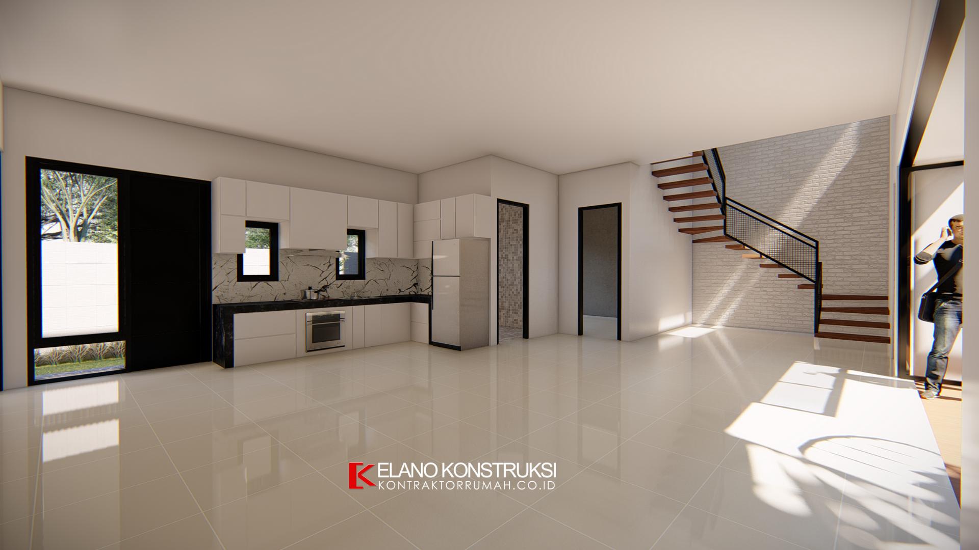 jasa desain rumah 8 - Desain Rumah Industrial Ibu Vidya 199 M2 Jakarta