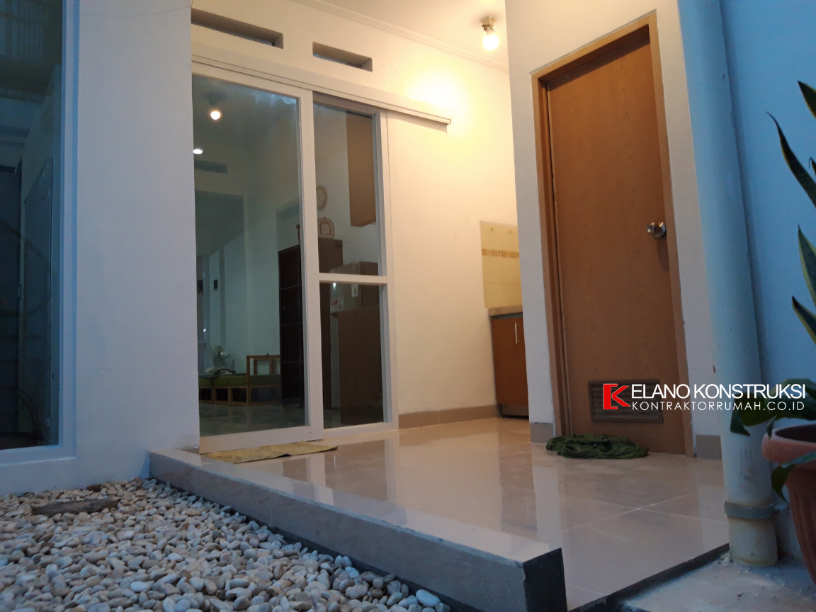 jasa kontraktor desain rumah 1 - Konstruksi Rumah Ibu DNI 56 M2 Depok Jawa Barat