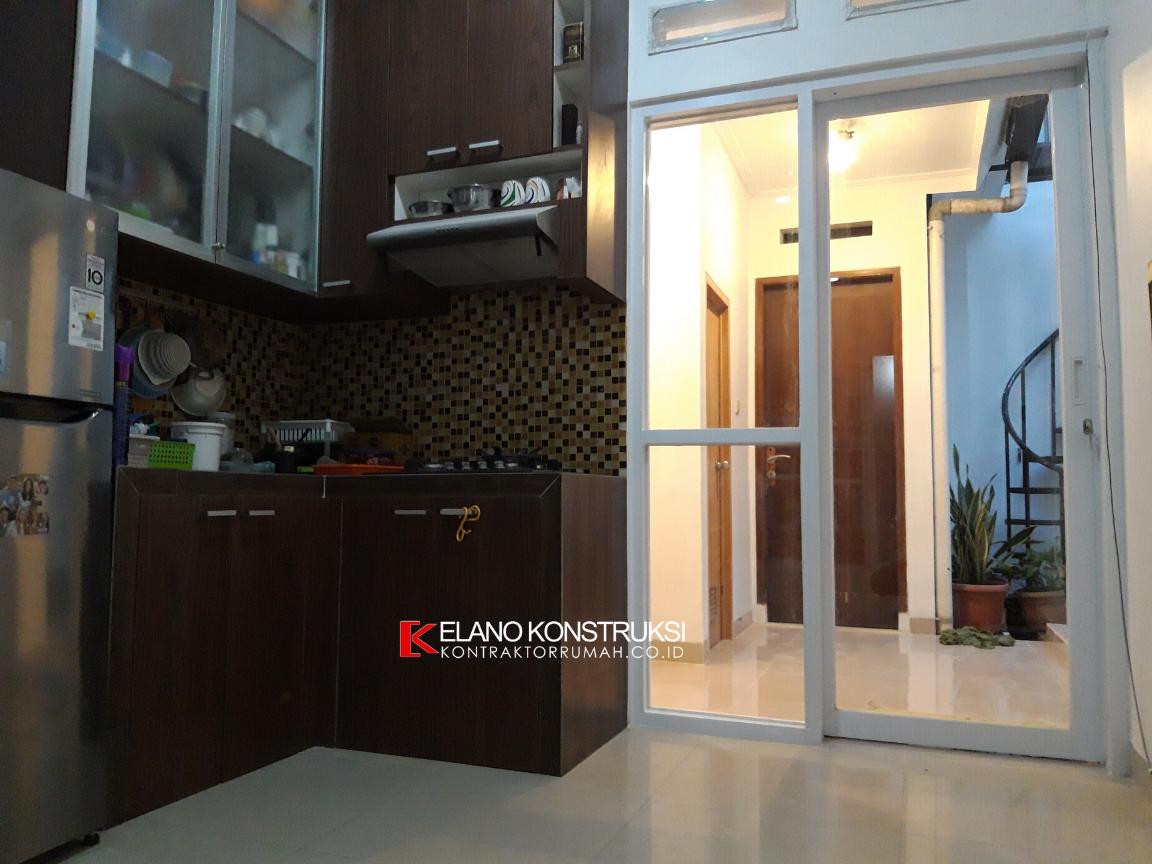 jasa kontraktor desain rumah 3 - Konstruksi Rumah Ibu DNI 56 M2 Depok Jawa Barat