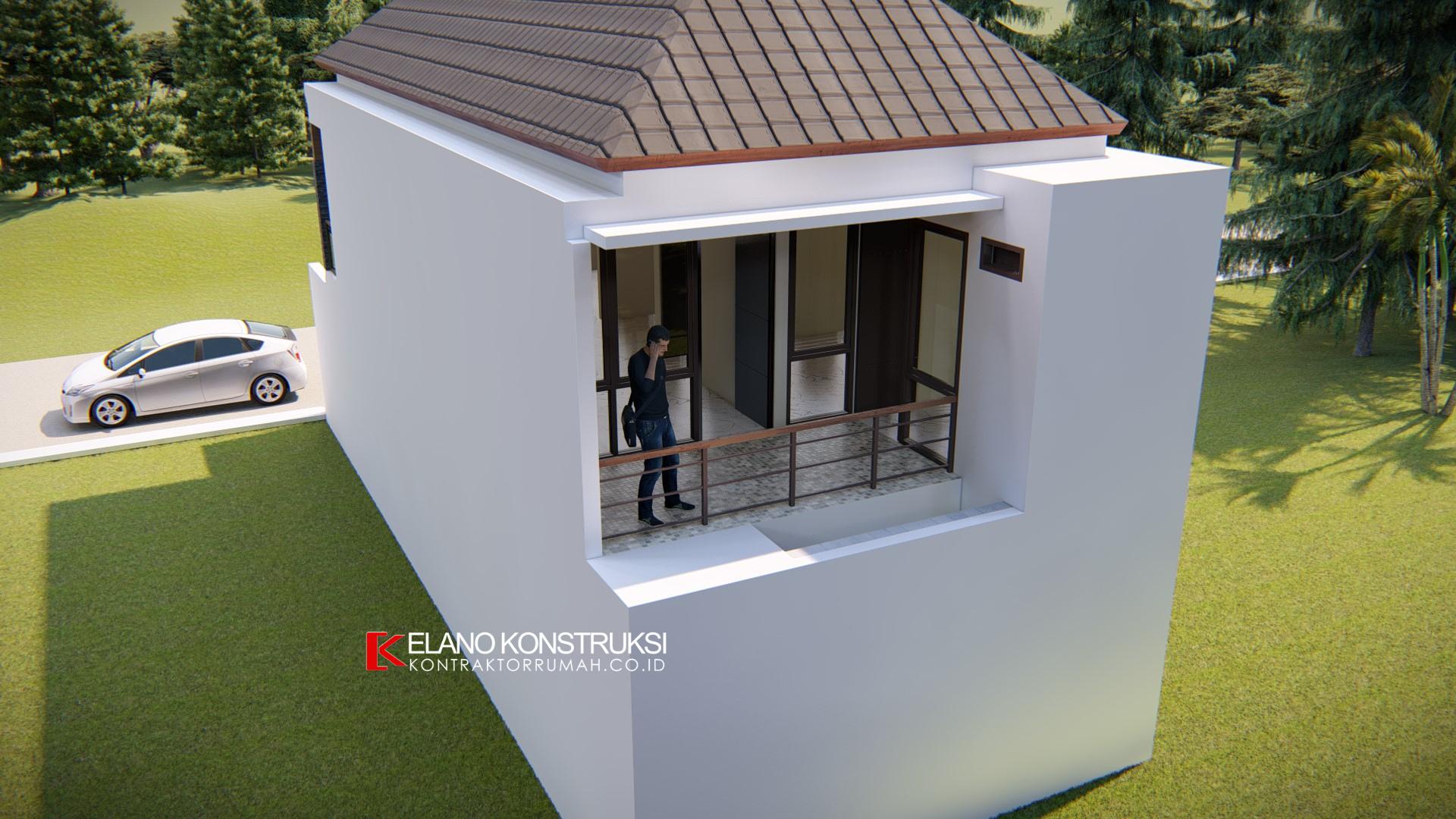 3 2 - Desain Rumah Minimalis Ibu Novi 140 M2 Tangerang
