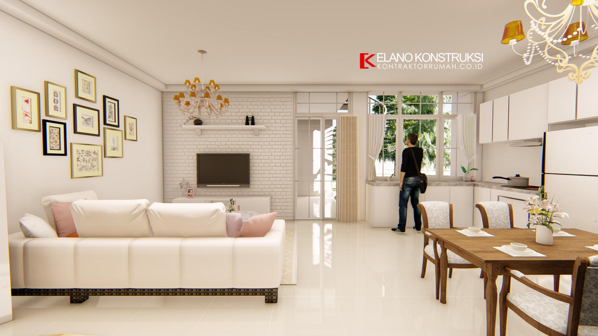 Untitled design 13 1 - Desain Interior Rumah shabby chic Bapak Wawan 250 M2 Depok