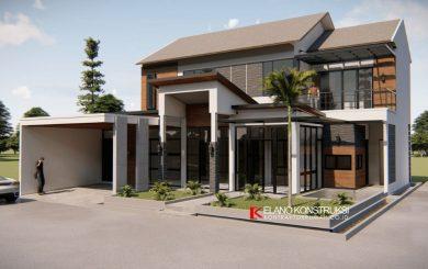 jasa desain rumah industrial