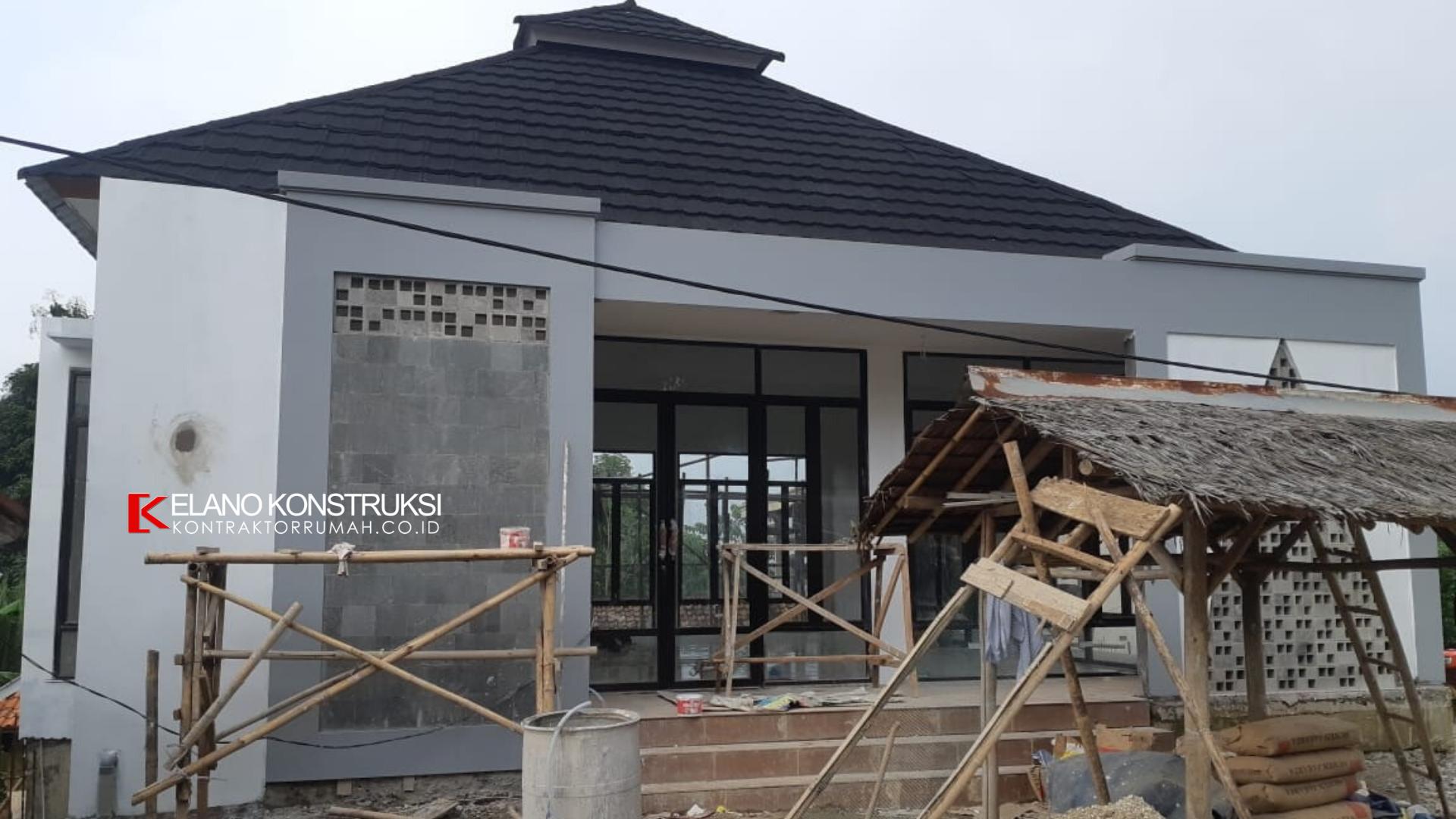 2 1 - Konstruksi Masjid Pesantren Alanwariyah 230 M2 Banten Jawa Barat