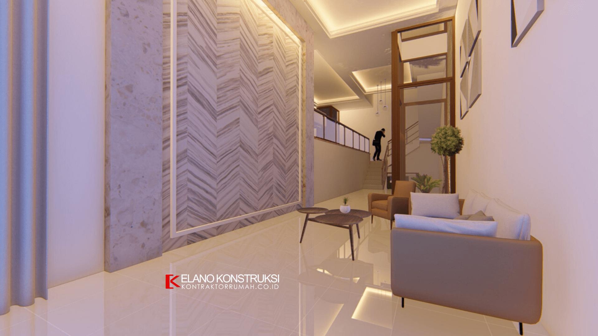 2 - Desain Rumah Kontemporer Modern Bapak Yan 230 M2 Jakarta