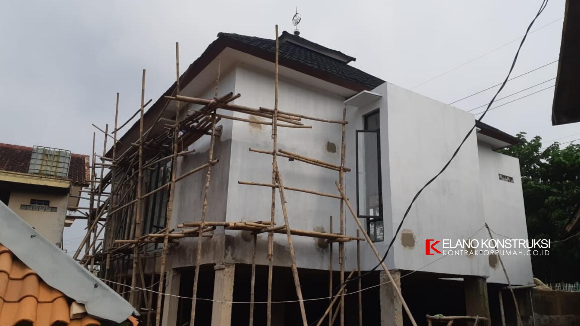 4 1 - Konstruksi Masjid Pesantren Alanwariyah 230 M2 Banten Jawa Barat