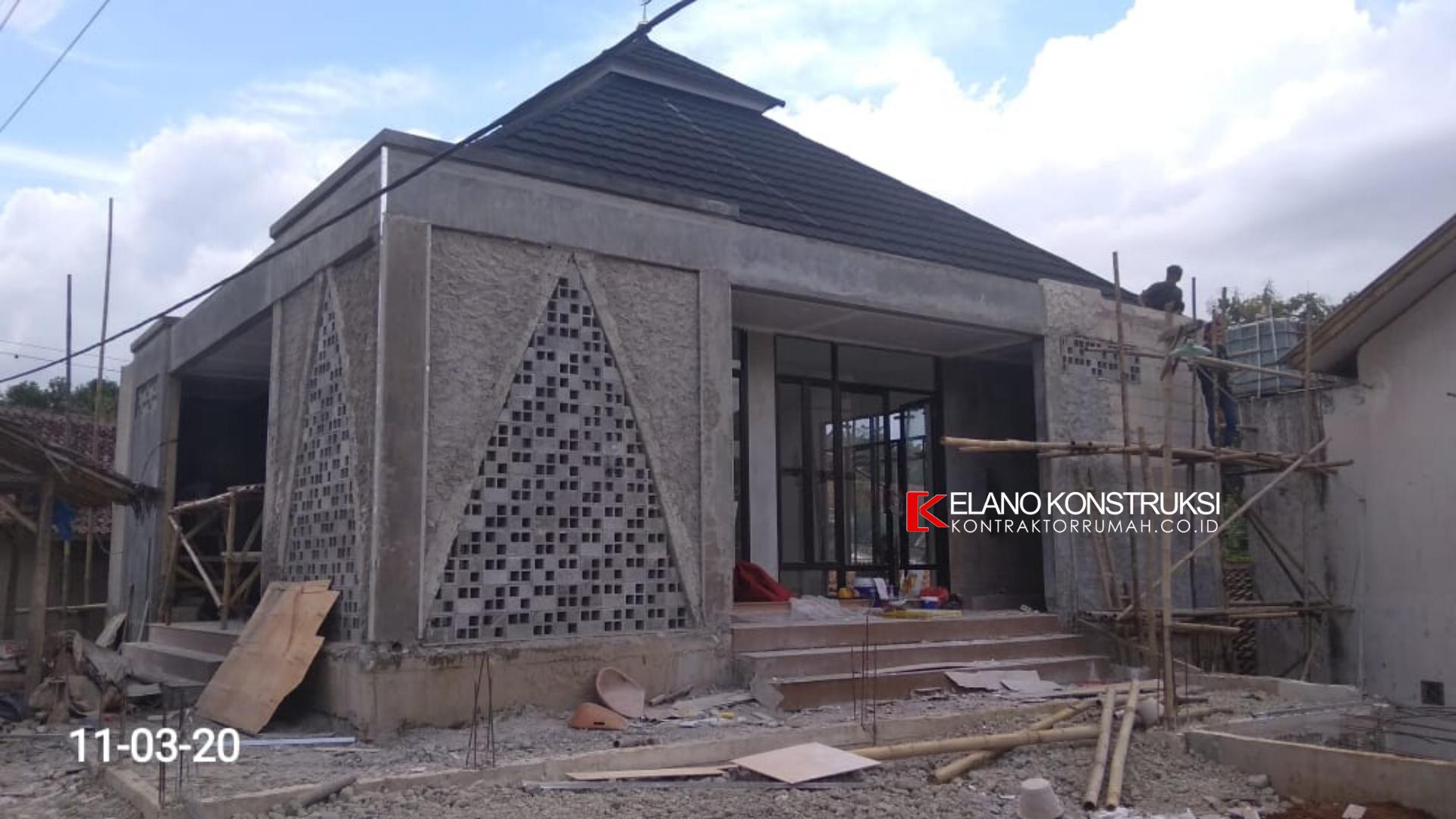 6 - Konstruksi Masjid Pesantren Alanwariyah 230 M2 Banten Jawa Barat