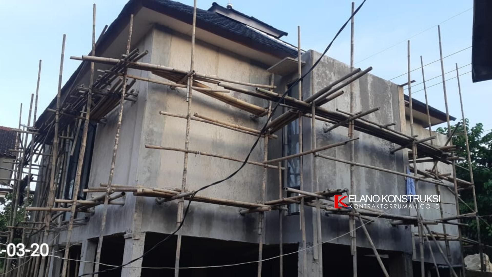 7 - Konstruksi Masjid Pesantren Alanwariyah 230 M2 Banten Jawa Barat