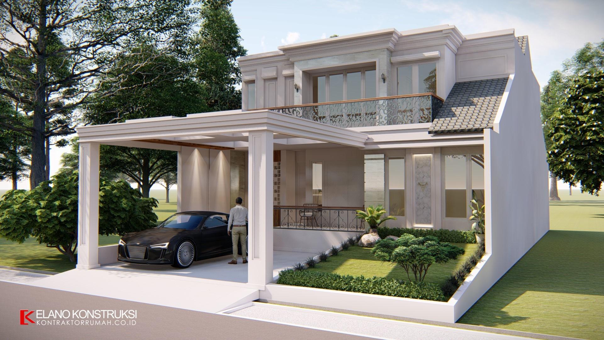 Desain Rumah Klasik 1