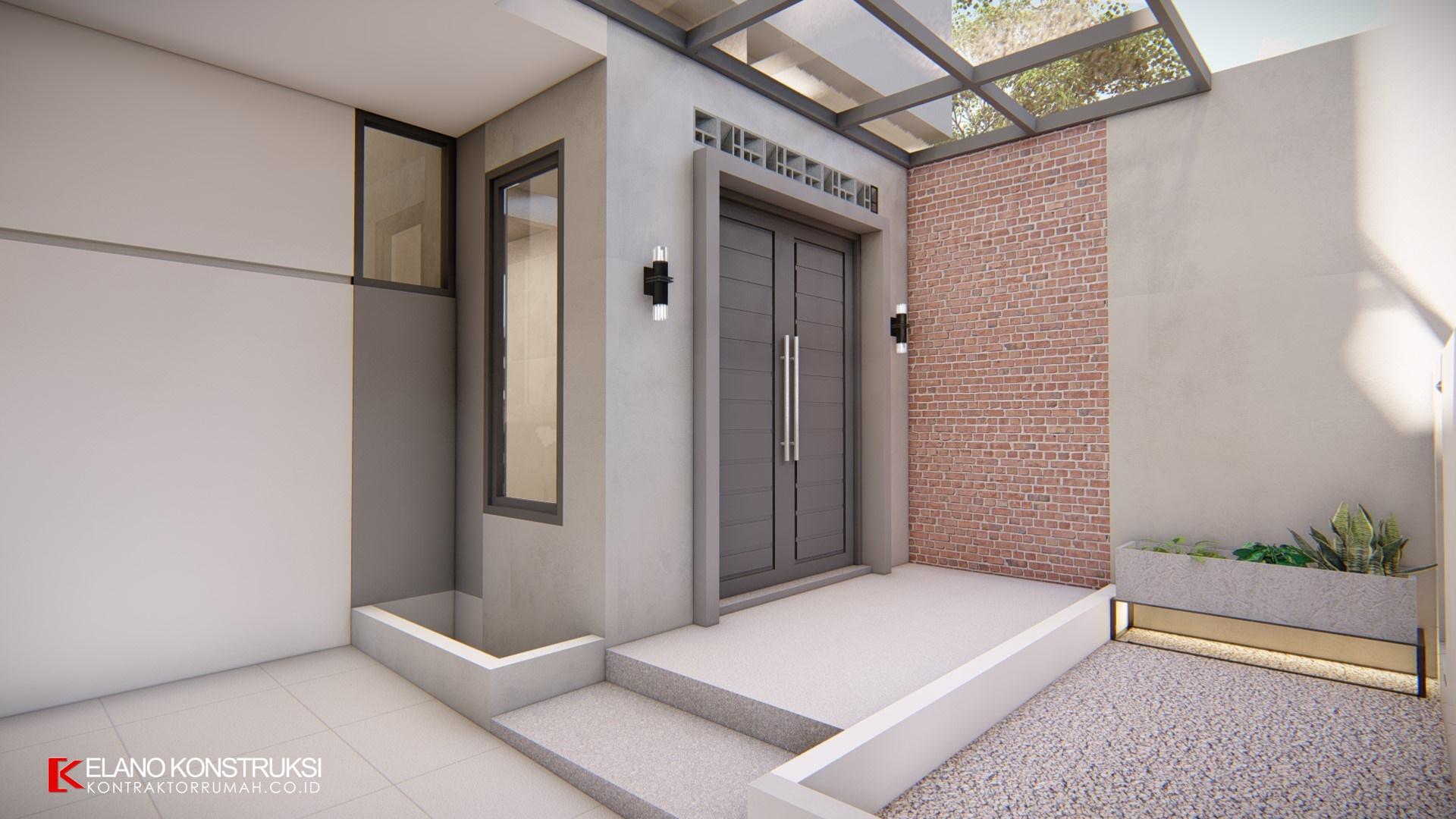 desain rumah kontemporer 4