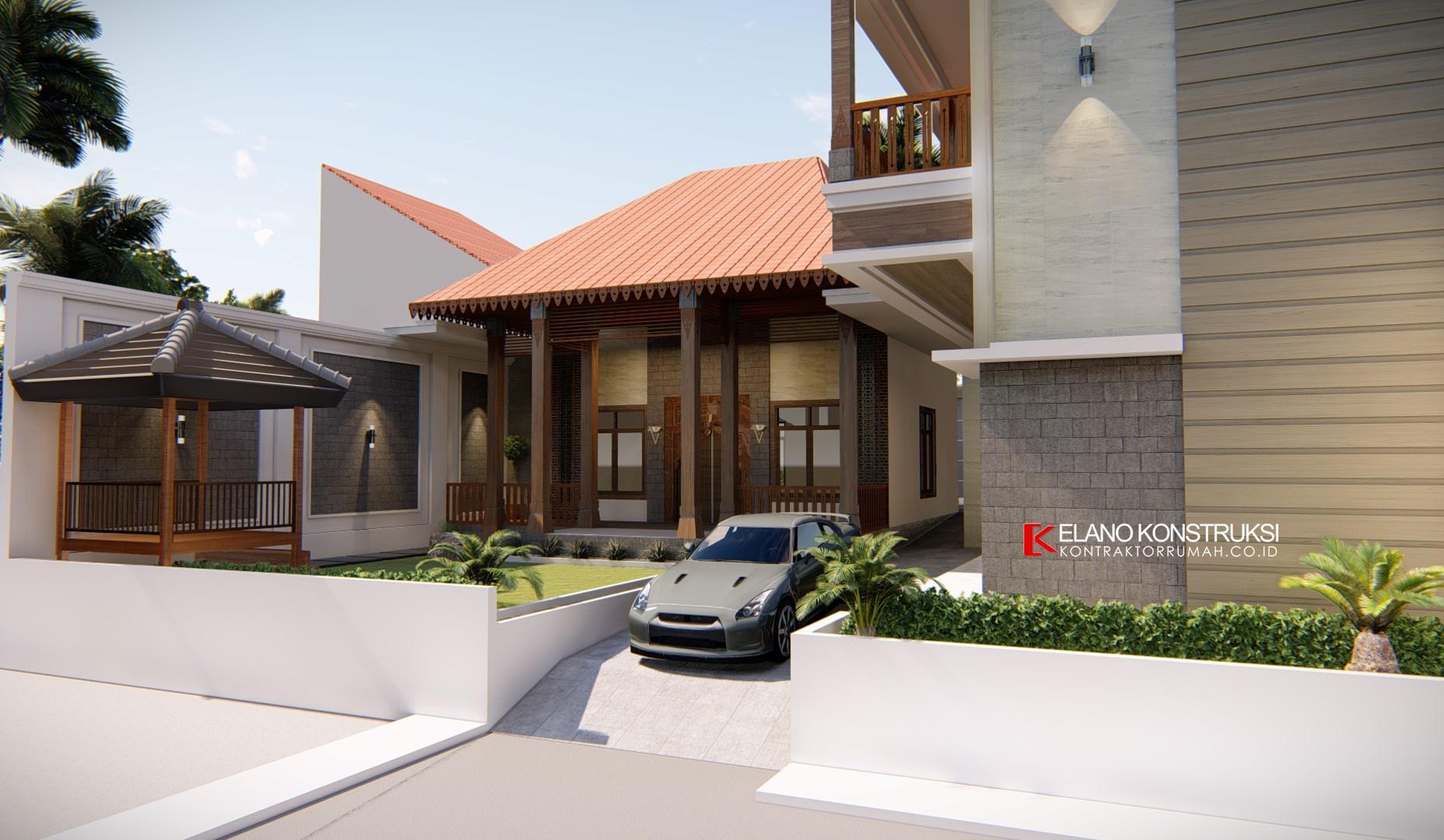 Desain rumah jawa 1