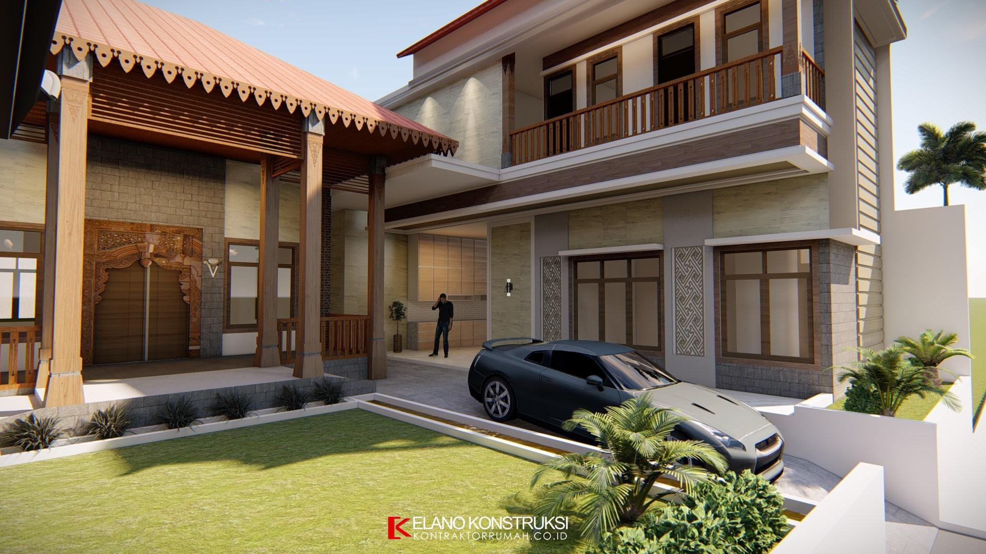 Desain rumah jawa 2