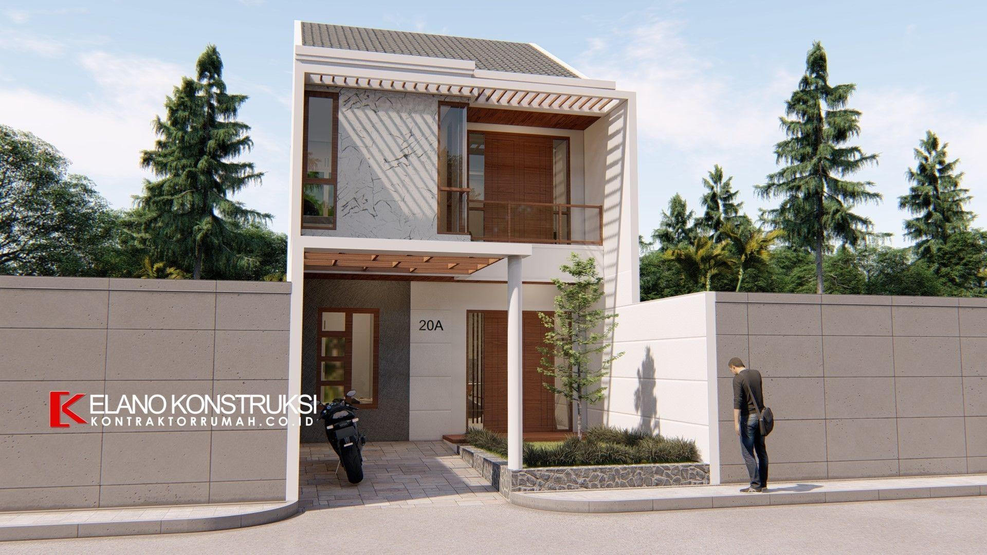 desain rumah depok