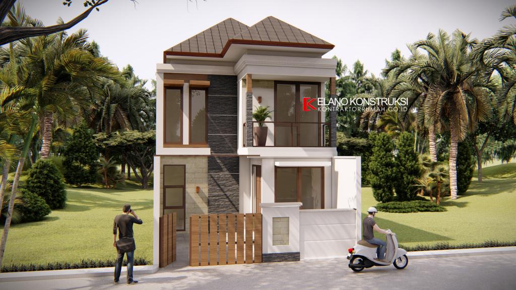 Desain Rumah di Gunung Putri