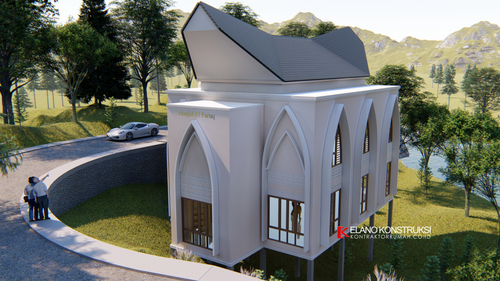 Desain Rumah di Karangbahagia