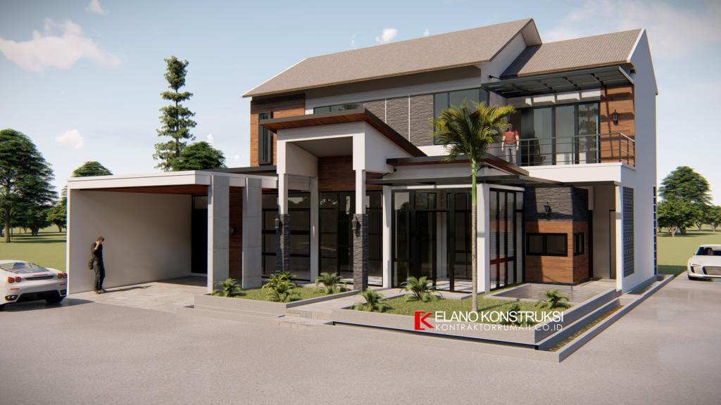 Desain Rumah di Kebayoran Lama