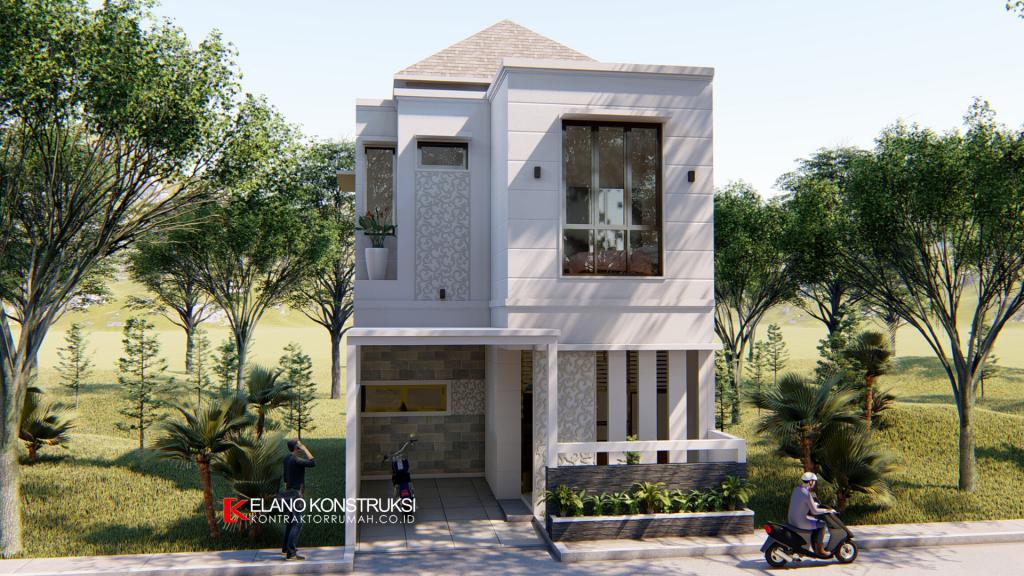 Desain Rumah di Taman Sari