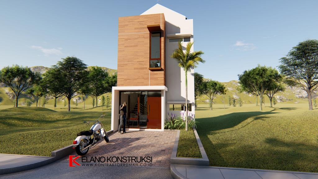 Desain Rumah di Larangan