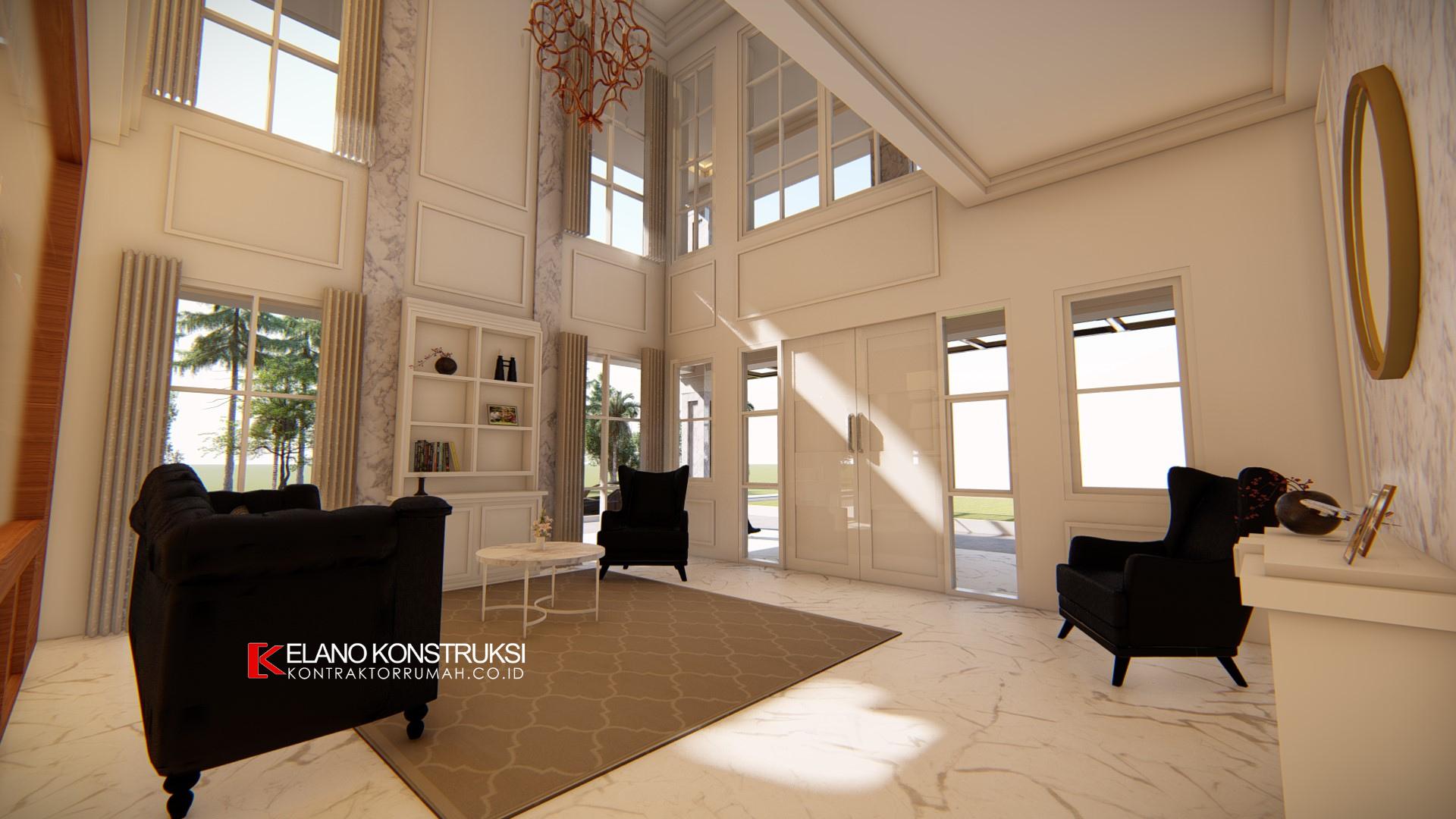 jasa arsitek rumah klasik depok