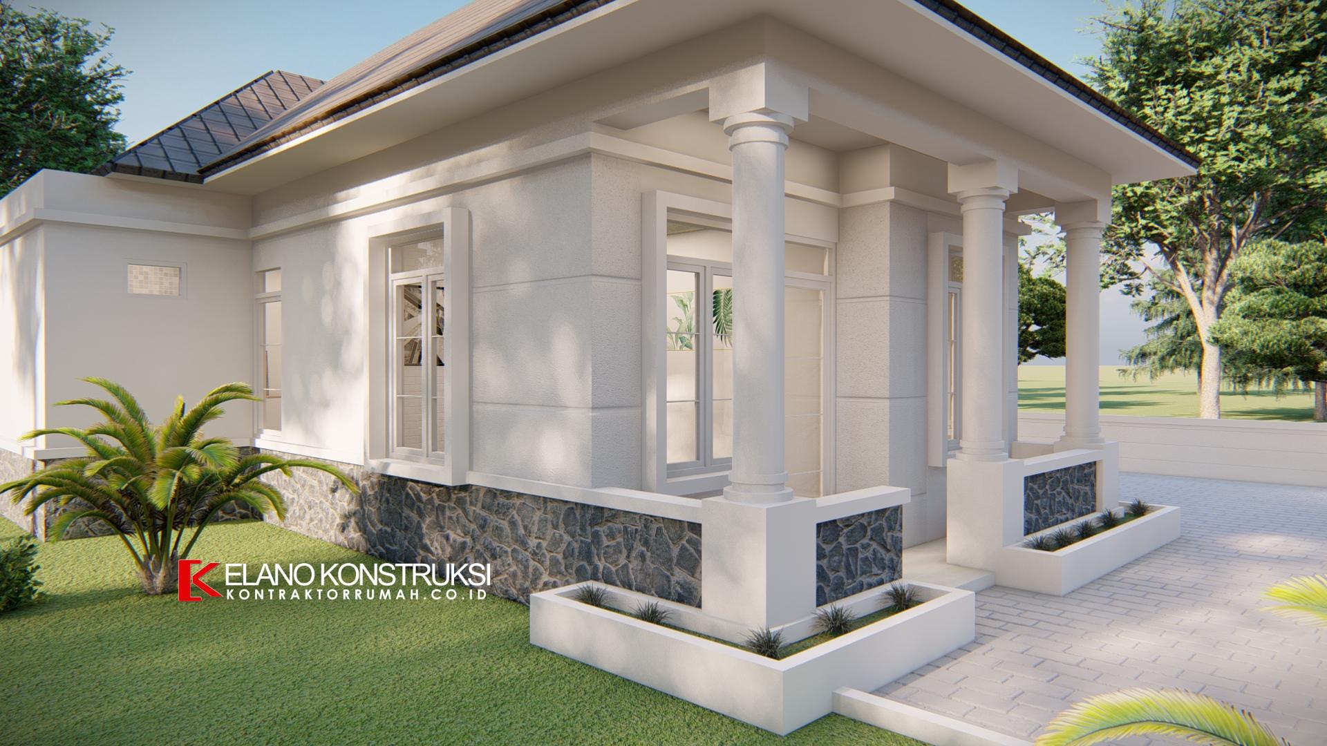 desain rumah kolonial