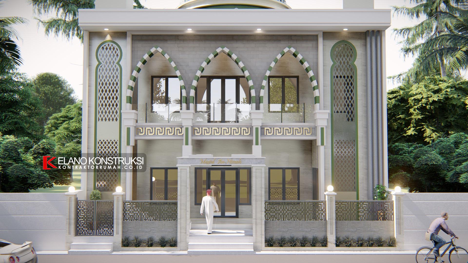 jasa desain masjid jakarta