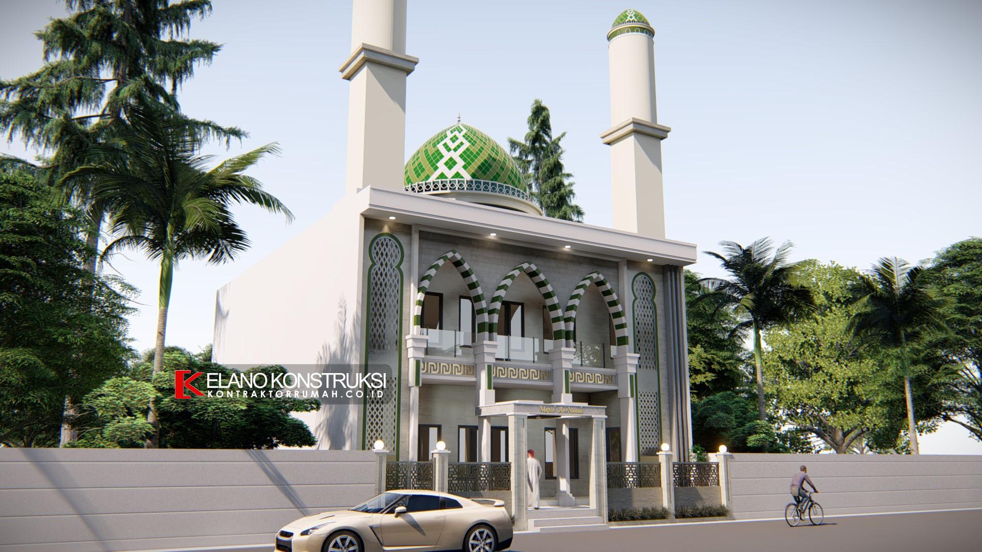 desain masjid jakarta