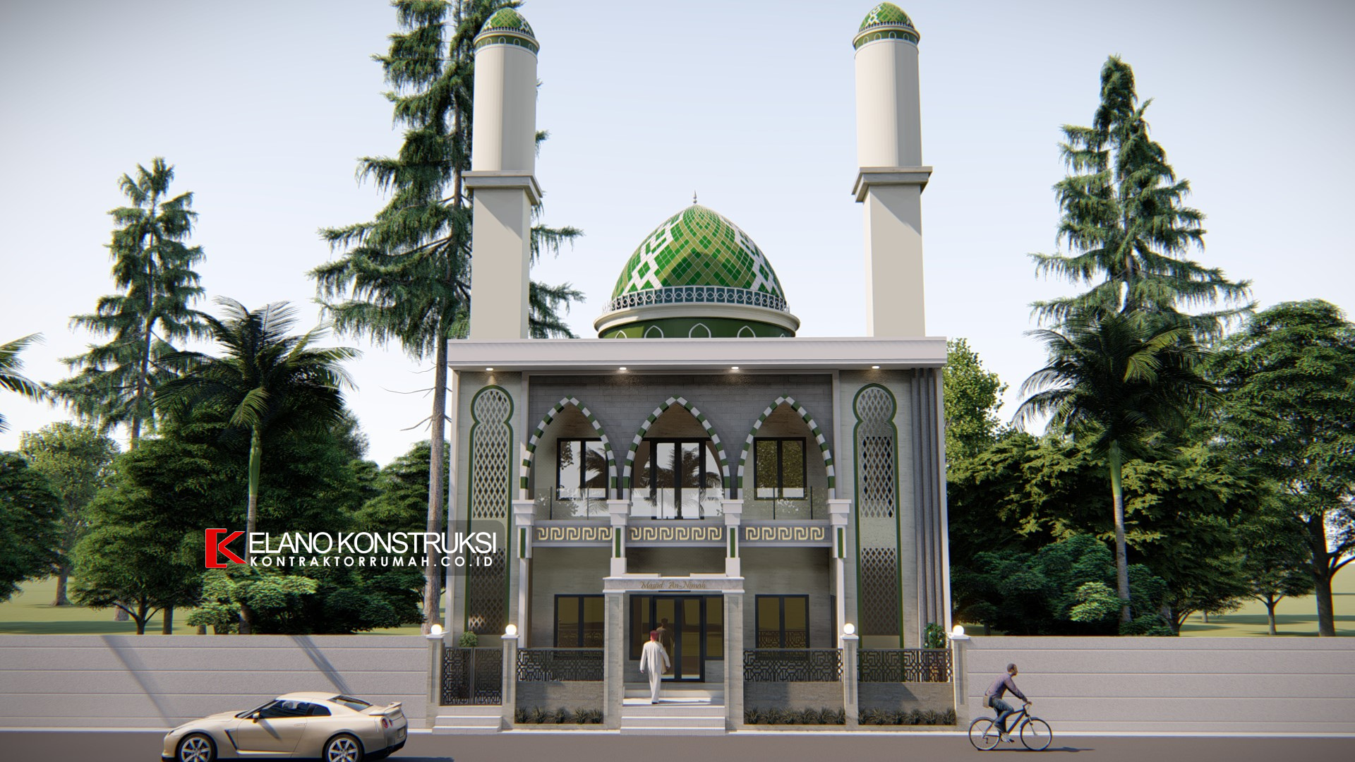 jasa desain masjid 1