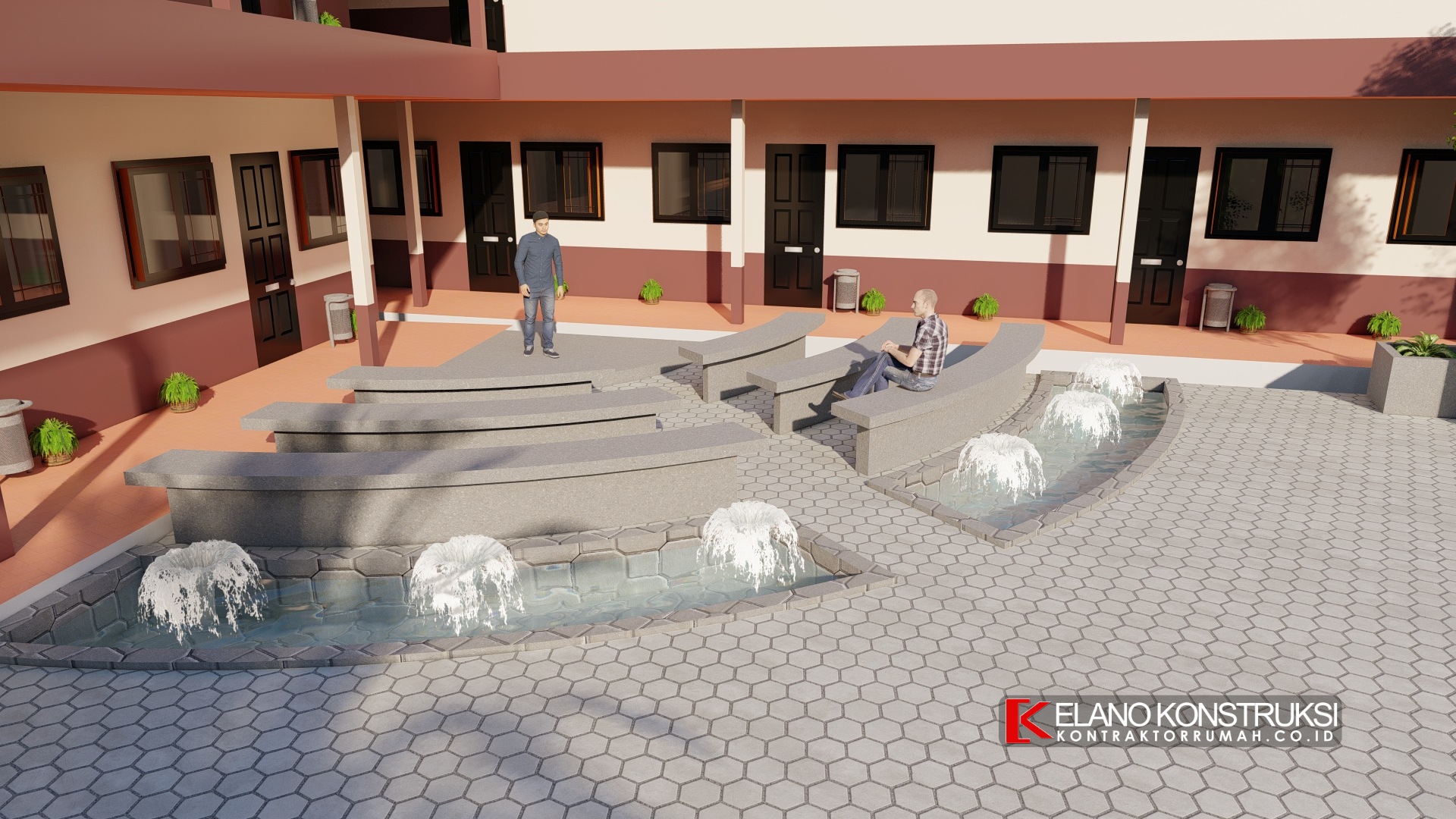 jasa arsitek taman sekolah