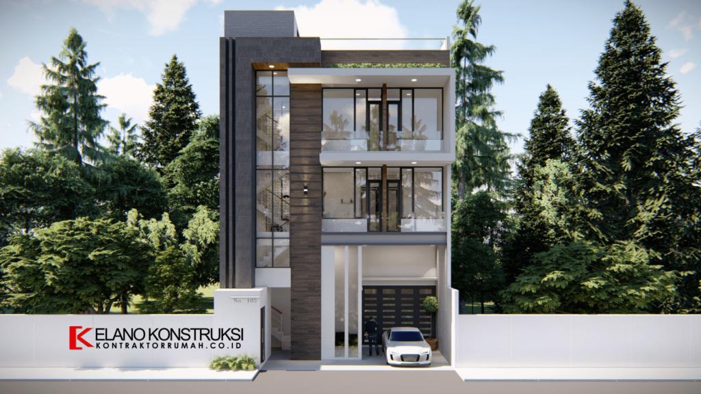 Desain Rumah Bertema Modern
