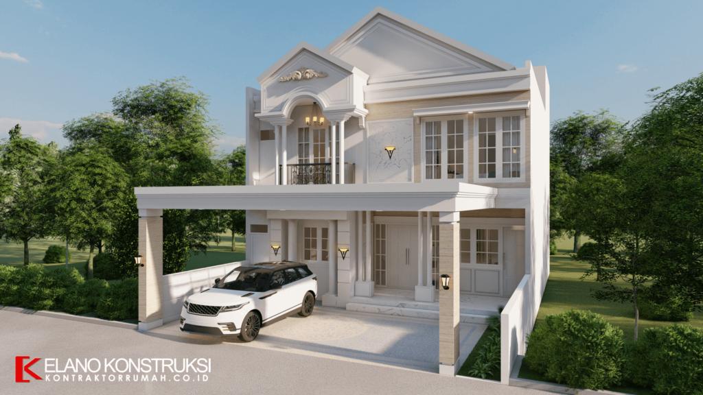 Rumah dengan Nuansa Putih