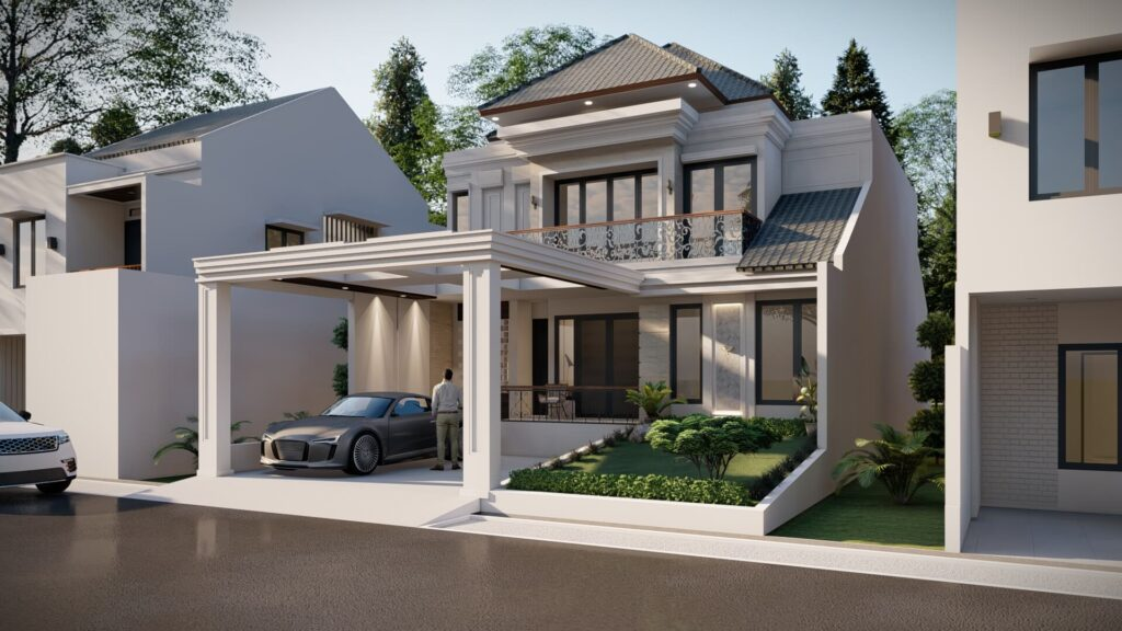 Desain Tampak Bangunan